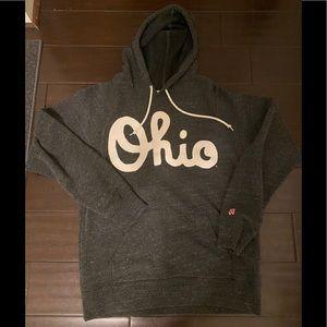 Men's Homage Script Ohio Fleece Hoodie Large